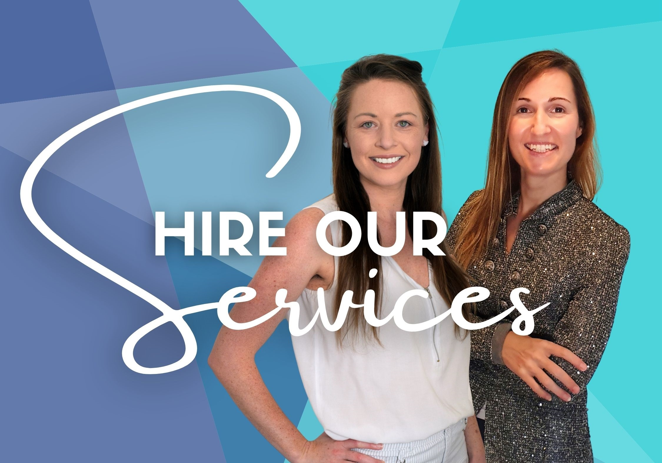 Hire services of Meg Jerrard and Mar Pages