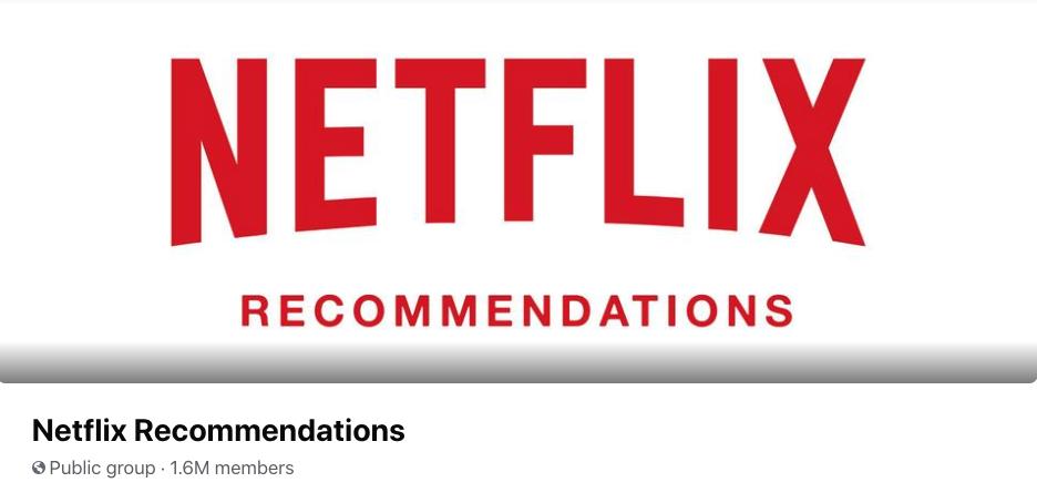Netflix recommendations group