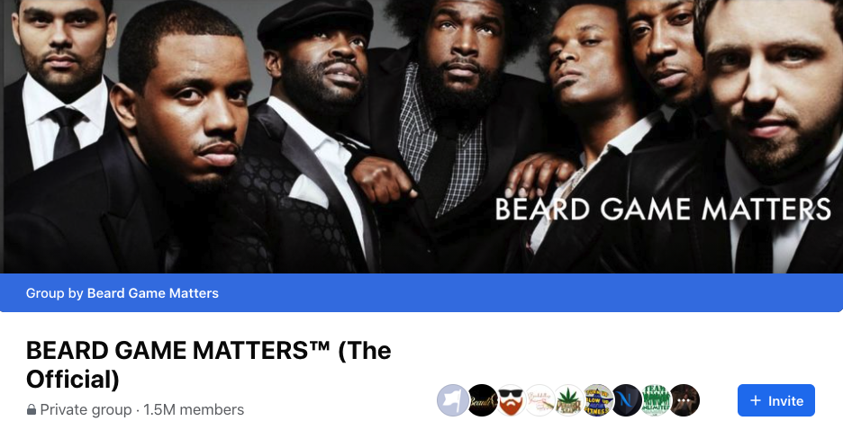 BEARD GAME MATTERS™ (The Official) group