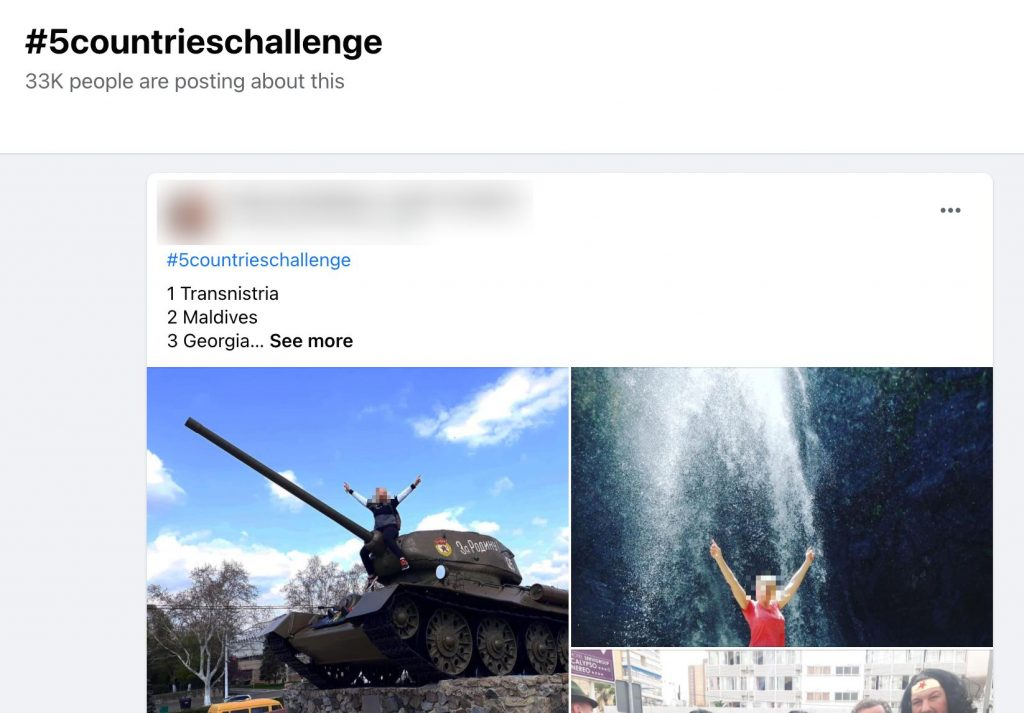Facebook Group challenge