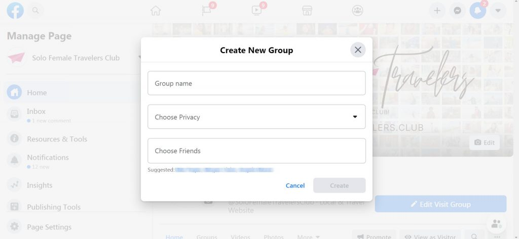 How to create a Facebook Group (11)